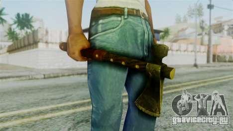 Tomahawk from Silent Hill Downpour для GTA San Andreas третий скриншот