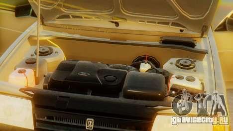 ВАЗ 21099 Сток для GTA San Andreas вид сверху