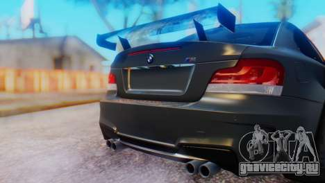 BMW M1 Tuned для GTA San Andreas вид сзади