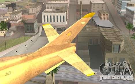 GTA 5 Besra для GTA San Andreas вид сзади слева