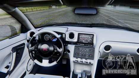 NFS Rivals Nissan GT-R R35 для GTA San Andreas вид справа