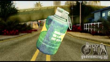 Brasileiro Grenade для GTA San Andreas второй скриншот