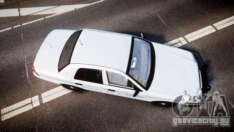 Ford Crown Victoria Bohan Police [ELS] unmarked для GTA 4 вид справа