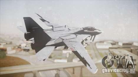 F-14B Bombcat VF-11 Red Rippers для GTA San Andreas вид слева