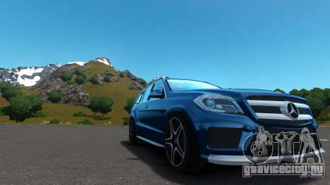 Mercedes-Benz GL 63 AMG для GTA 4 вид изнутри