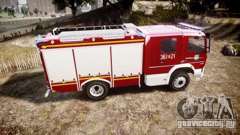 Mercedes-Benz Atego 1530 Firetruck [ELS] для GTA 4 вид слева