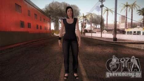 Mecgrl HD Model для GTA San Andreas второй скриншот
