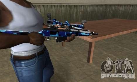 Water Sniper Rifle для GTA San Andreas