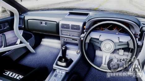 Mazda RX-7 (FC) для GTA San Andreas вид сзади слева