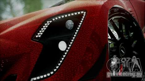 Bertone Mantide 2010 для GTA San Andreas вид сзади слева