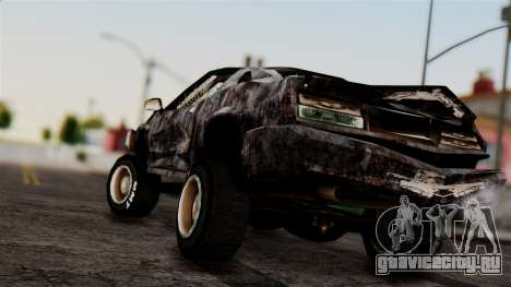 Post-apocalyptic Buffalo для GTA San Andreas вид слева
