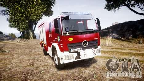 Mercedes-Benz Atego 1530 Firetruck [ELS] для GTA 4