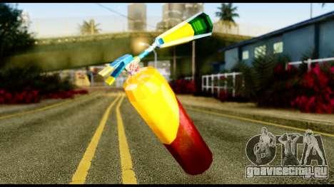 Brasileiro Fire Extinguisher для GTA San Andreas второй скриншот
