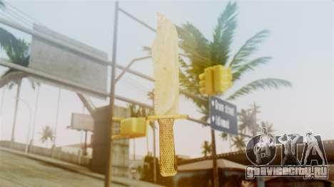 Red Dead Redemption Knife Sergio для GTA San Andreas второй скриншот