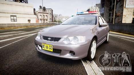 Ford Falcon XR8 Unmarked Police [ELS] для GTA 4