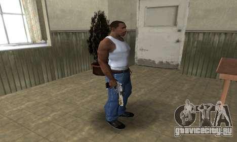 Flame Deagle для GTA San Andreas третий скриншот