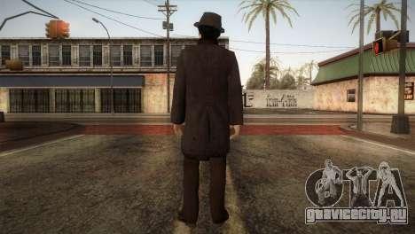 Sherlock Holmes v2 для GTA San Andreas третий скриншот