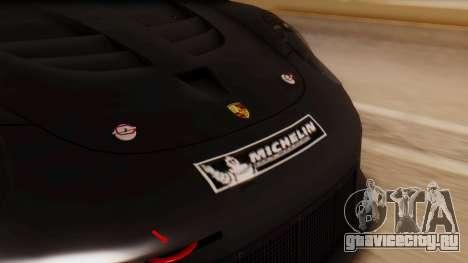 Porsche 911 RSR для GTA San Andreas вид сзади