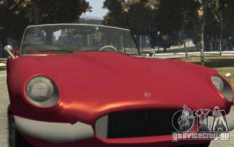 Enus Windsor Classic для GTA 4 вид сбоку