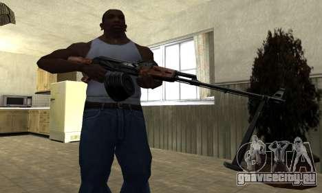 Старый пулемет для GTA San Andreas третий скриншот