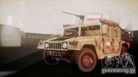 Polish HMMWV для GTA San Andreas