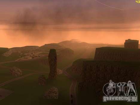 Зелёная пустыня Лас Вентурас v2.0 для GTA San Andreas пятый скриншот