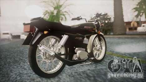 Suzuki AX 100 для GTA San Andreas вид слева