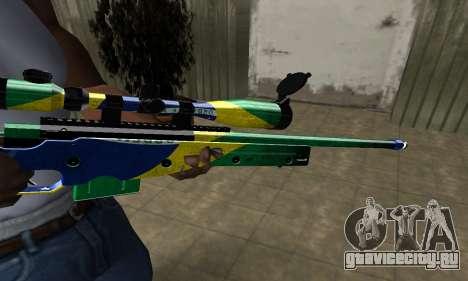 Three Colors Sniper Rifle для GTA San Andreas второй скриншот