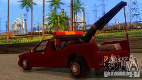 Premier Towtruck для GTA San Andreas вид слева