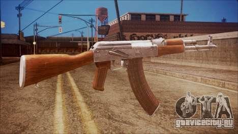 AK-47 v7 from Battlefield Hardline для GTA San Andreas второй скриншот