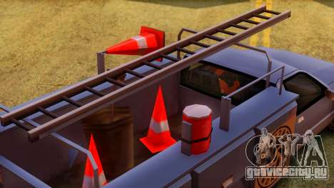 Premier Utility Van для GTA San Andreas вид сзади