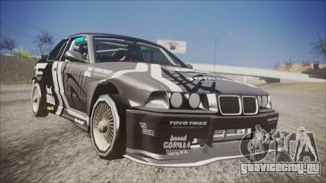 BMW M3 E36 GT-Shop для GTA San Andreas