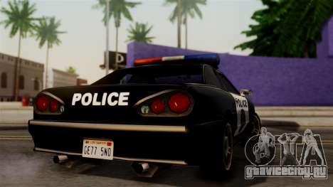 Police Elegy для GTA San Andreas вид слева