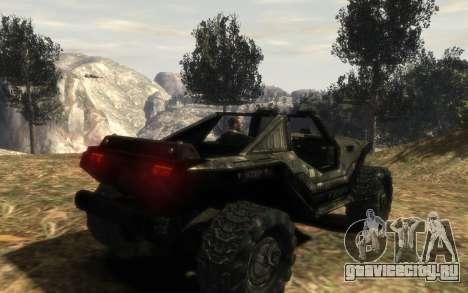 ККОН M12 Вепрь из Halo Reach для GTA 4 вид слева