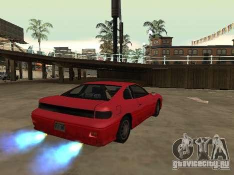 Убираем размытие нитро при включении для GTA San Andreas второй скриншот