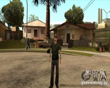 Kenny from Walking Dead для GTA San Andreas третий скриншот