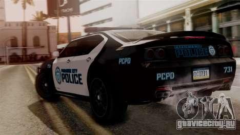 Hunter Citizen from Burnout Paradise v1 для GTA San Andreas вид слева