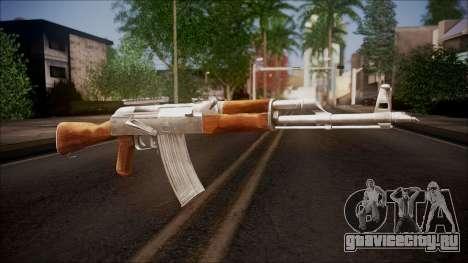 AK-47 v1 from Battlefield Hardline для GTA San Andreas