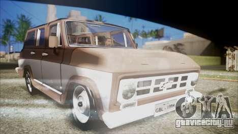 Chevrolet Veraneio для GTA San Andreas