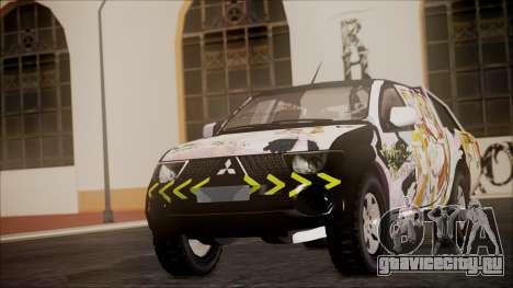 Mitsubishi Strada Triton Itasha для GTA San Andreas