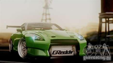 Nissan GT-R R35 Bensopra 2013 для GTA San Andreas вид сзади