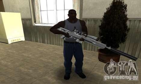Original Sniper Rifle для GTA San Andreas третий скриншот