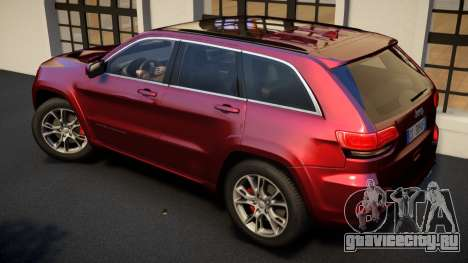 Jeep Grand Cherokee SRT8 2015 v1.0 для GTA 4 вид слева