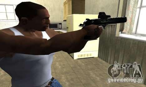 Blue Deagle для GTA San Andreas второй скриншот