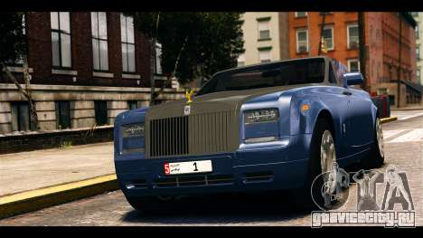 Rolls-Royce Phantom 2013 Coupe v1.0 для GTA 4