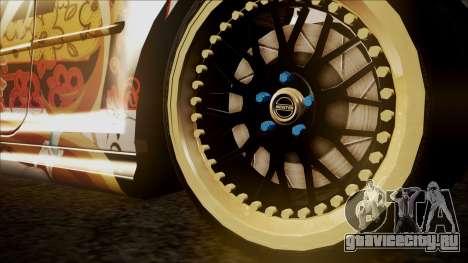 BMW 325t E46 LCI SAO Itasha для GTA San Andreas вид справа
