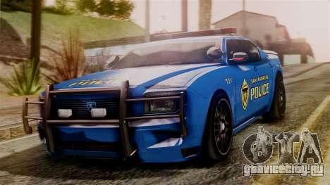 Hunter Citizen from Burnout Paradise SAPD для GTA San Andreas