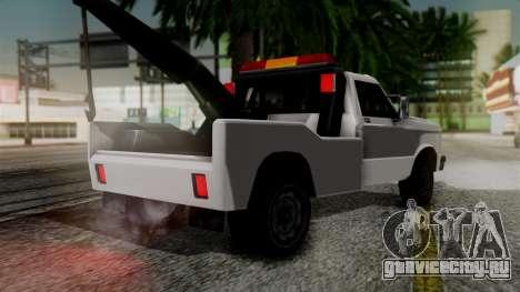 Towtruck New Edition для GTA San Andreas вид слева