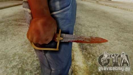 GTA 5 Antique Cavalry Dagger v2 для GTA San Andreas третий скриншот