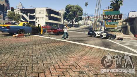 Police Chase Random Event для GTA 5 четвертый скриншот